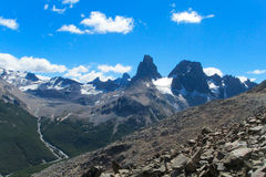 Cerro Castillo Waaier royalty-vrije stock afbeelding