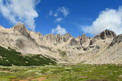 Cerro Catedral mountains panorama Stock Photography