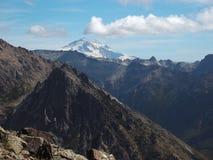 Cerro Catedral, vetta di panorama Immagini Stock Libere da Diritti