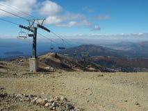 Cerro Catedral, vetta di panorama Fotografia Stock Libera da Diritti