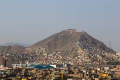 cerro cristobal san royaltyfri foto