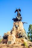 Cerro de Λα Gloria μνημείο, σε Mendoza Στοκ Εικόνες