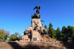Cerro de la Gloria royaltyfri fotografi
