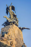 Cerro de la Gloria monument in Mendoza, Argentina. Royalty Free Stock Photos