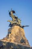 Cerro de la Gloria monument in Mendoza, Argentina. Royalty Free Stock Image