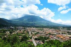 Cerro De Los angeles Cruz, Antigua, Gwatemala Zdjęcia Stock