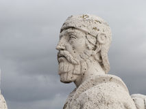 Cerro de los Angeles in Getafe, Madrid. monument inaugurated by Royalty Free Stock Image