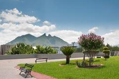 Cerro de los angeles Silla, Monterrey - Obrazy Royalty Free
