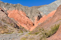 Cerro de los Siete Colores, Purnamarca, Argentina Royalty Free Stock Image