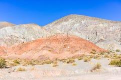 Cerro de los Siete Colores, Purnamarca, Argentina Royalty Free Stock Images