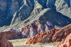 Cerro de los Siete Colores, Purnamarca, Argentina Stock Photography