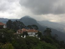 Cerro de Monserrate lizenzfreie stockfotos