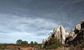 Cerro del Hierro, paesaggio immagini stock libere da diritti