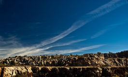 Cerro del Hierro, vista immagine stock libera da diritti