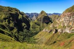 Cerro domkyrka, Codo de los Anderna & x28; Armbåge av Andes&en x29; , Samaipata, Sucre, Bolivia Arkivbild