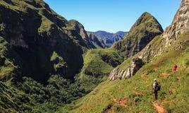 Cerro domkyrka, Codo de los Anderna & x28; Armbåge av Andes&en x29; , Samaipata, Sucre, Bolivia Royaltyfria Bilder