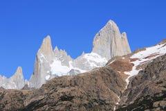 Cerro Fitz Рой Стоковое Фото