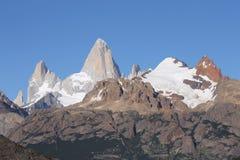 Cerro Fitz Рой Стоковое Изображение RF