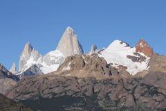 Cerro Fitz Roy Lizenzfreies Stockbild