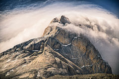Cerro Fortaleza. In the French Valley, Torres del Paine National Park, Chile Royalty Free Stock Image