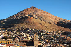 cerro miasta potos rico Obrazy Stock