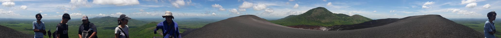 Cerro neger- landskap Royaltyfria Foton