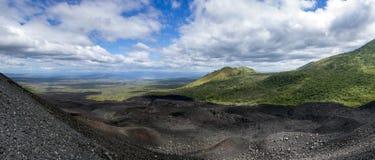 Cerro neger, NICARAGUA royaltyfri bild