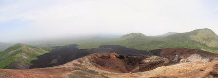 Cerro negro panorama Royalty Free Stock Image