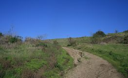Cerro Rebal ślad Zdjęcia Royalty Free
