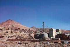 Cerro rico en Potosi stock fotografie