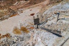 Cerro Rico mijn in Potosi royalty-vrije stock foto