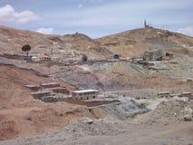 Cerro rico wzgórze z srebnymi kopalniami w Potosi Zdjęcie Royalty Free