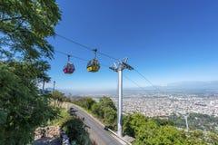 Cerro San Bernardo, Salta, Argentina arkivfoton