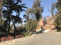 Cerro Santa Lucia στοκ φωτογραφία με δικαίωμα ελεύθερης χρήσης