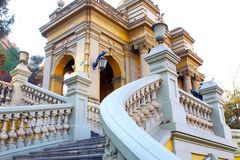 Cerro Santa Lucia in Downtown Santiago, Chile. Royalty Free Stock Photography