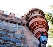 Cerro Santa Lucia Downtown Santiago de Chile. Stock Images