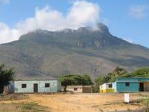 Cerro Santa Monument y casas tipical, estado del halcón, Venezuela fotos de archivo libres de regalías