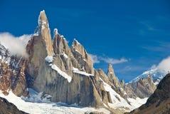 Cerro Torre Imagen de archivo libre de regalías