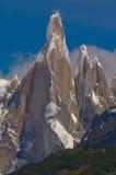 Cerro Torre. The Cerro Torres mountain peak. El Chalten, Los Glaciares National Park, Patagonia, Argentina royalty free stock photography