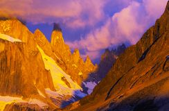 Cerro Torre Royalty Free Stock Images