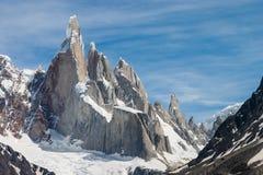 Cerro Torre horizontal Images libres de droits