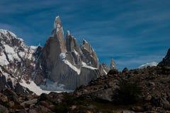 Cerro Torre au temps parfait Photo stock