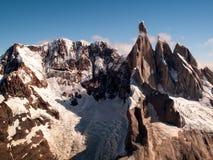 Cerro Torre Berg stock afbeeldingen
