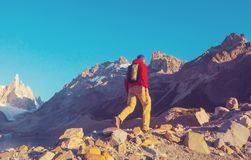 Cerro Torre photo stock