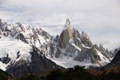 Cerro Torre en Patagonia Imagen de archivo libre de regalías