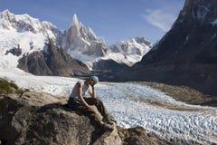 Cerro-torre glacier Royalty Free Stock Image