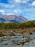 Cerro Torre Lookout,El Chalten,Argentina Royalty Free Stock Image