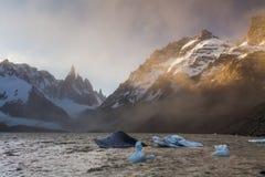 Cerro Torre, Los Glaciares National Park, Patagonia, Stock Image