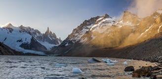 Cerro Torre, Los Glaciares National Park, Patagonia, Royalty Free Stock Photo