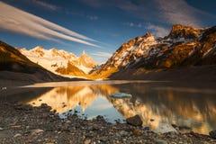 Cerro Torre, Los Glaciares National Park. royalty free stock photo